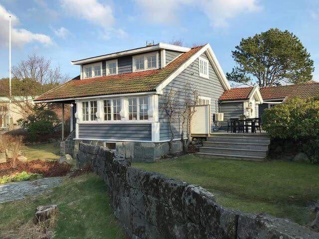 Stuga / Sommarbostad vid havet Näset