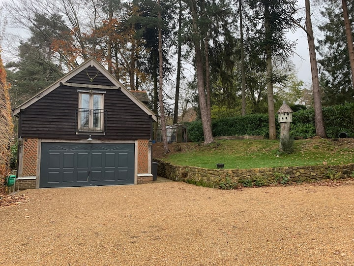 A spacious studio apartment on the Ashdown Forest