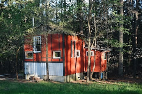 達勒姆農場的農村小木屋