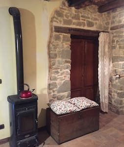 Beautiful stone house in town center - Manciano