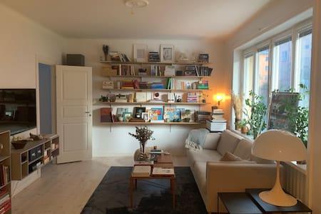 Light and Cozy Designers Apartment in Hornstull!