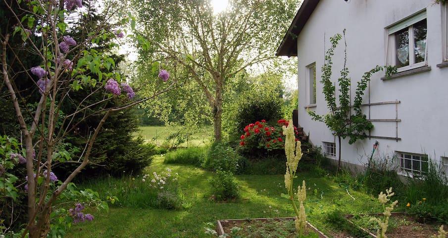 House with big garden near Bregenz - Gemeinde Hörbranz - Casa