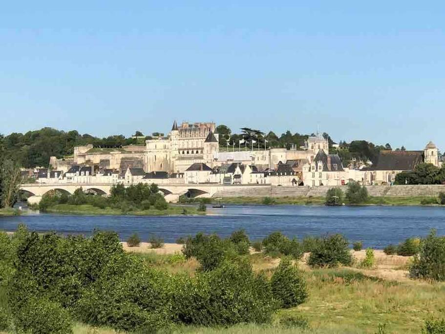 La Pouletterie est situé au calme à seulement 5 minutes du Chateau d'AMBOISE