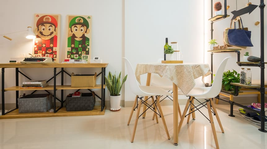 【VR全景看房】本·居『α』马里奥 岛中央 SM之上 两房大床房 - Xiamen - Apartamento