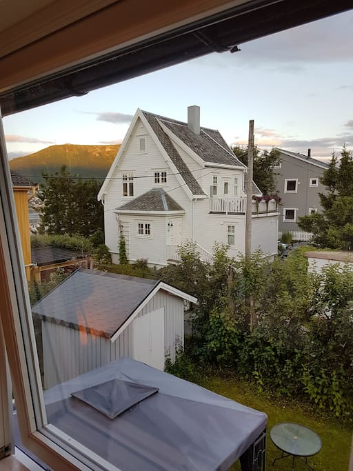 Utsikt fra privat rom