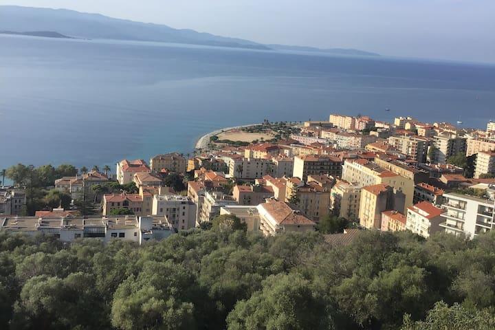 Ajaccio vue exceptionnelle à 180°
