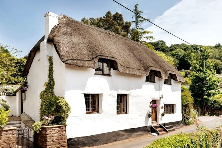 Frog Cottage, Picturesque Period Devon Cottage