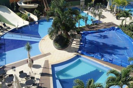 Lindo apart hotel ao lado da Pousada do Rio quente - Esplanada do Rio Quente - Apartamento