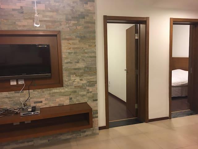 汤inn温泉度假公寓,温馨两室一厅,紧邻县城及雪场。 - 张家口 - Huoneisto