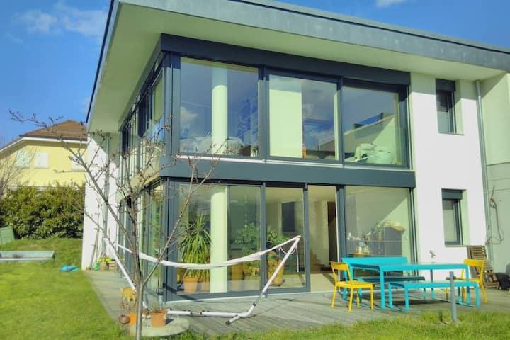 Yverdon-les-Bains: chambre d'amis