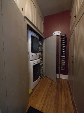 Front-Loading Washer & Dryer Unit