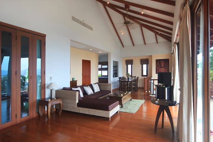 Villa Tranquility,  2 bedroom Sea View Villa - Ko Samui - Huis