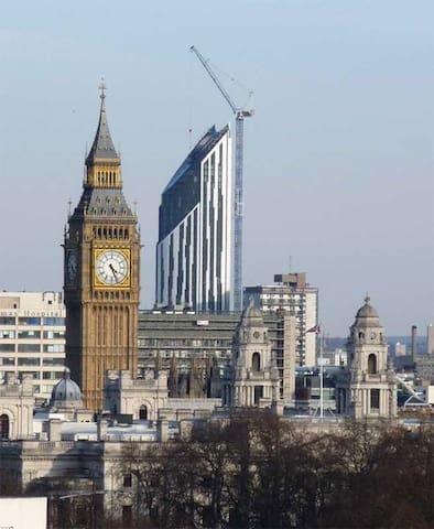 Central London Studio in Skyscraper - Londres - Apartamento