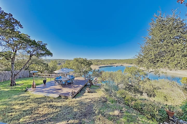 Lakefront Home with Private Dock & Hot Tub
