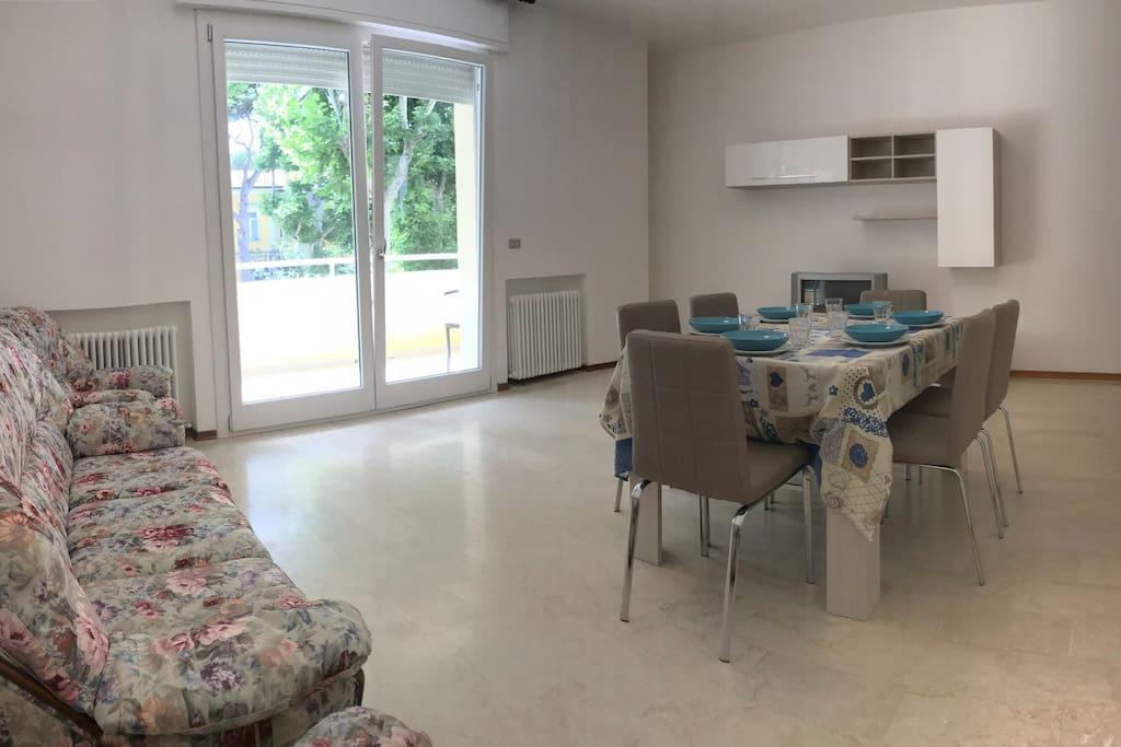 Appartamento in centro a Cervia a 600m dal mare.