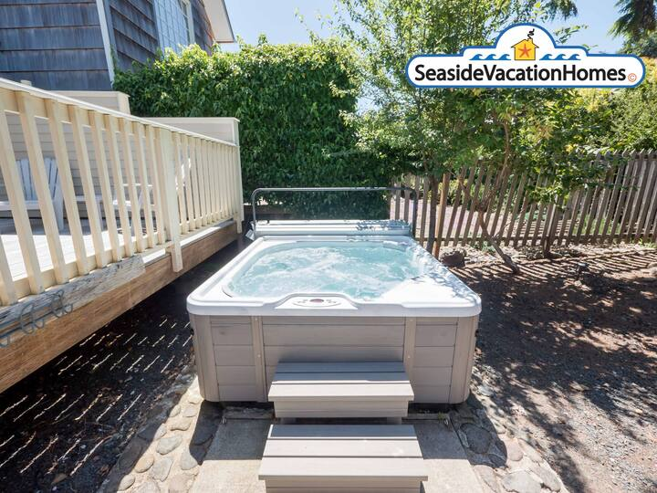 SHORE TO PLEASE: 1440 Beach Dr. HOT TUB
