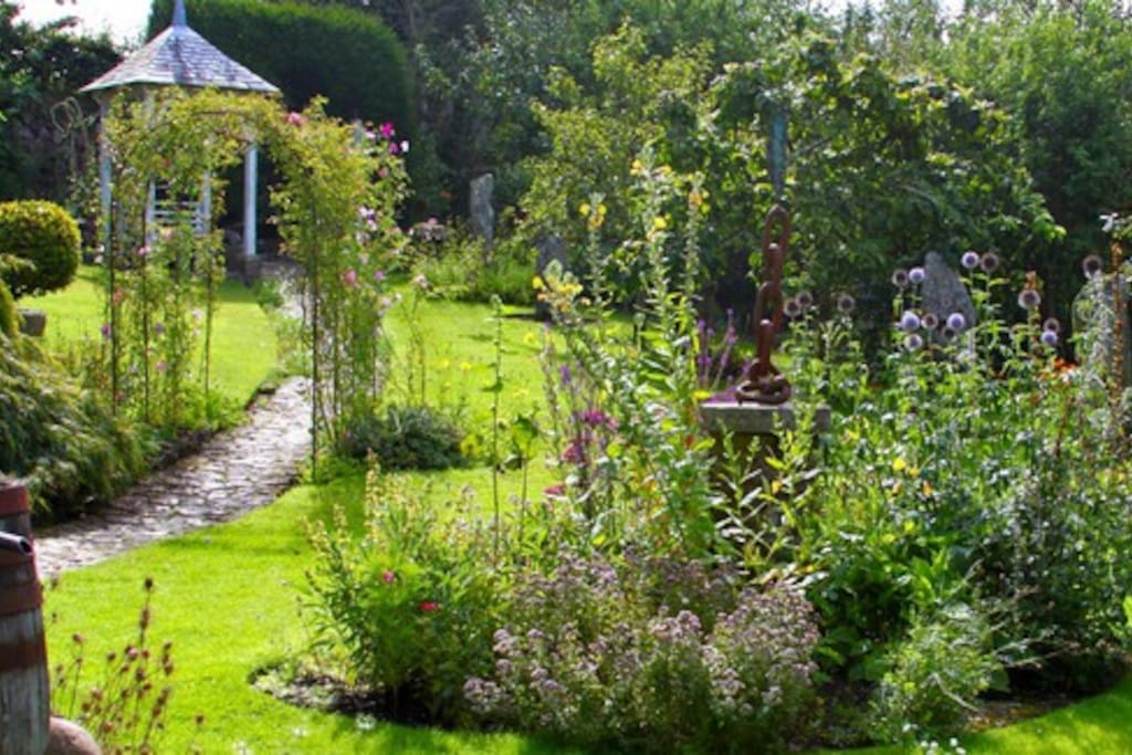 A small  taste of our expansive garden. This photo is taken right from the front of the Annexe.