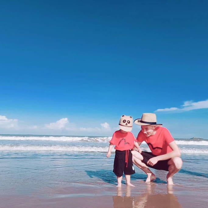 东沙海滩实景