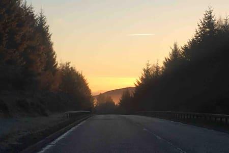 Loch Long view, Double bed & breakfast, Kilcreggan