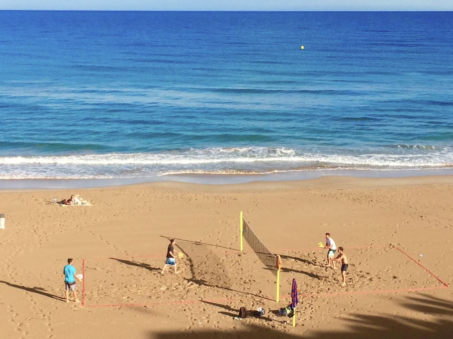 Beachtennis, standup, sailing, diving ... all within 200 meters