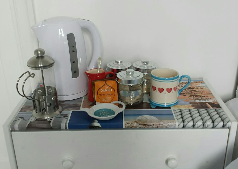 Make yourself a cuppa in your room