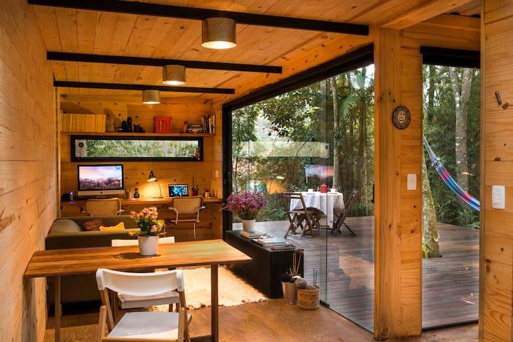 Casa Conteiner na Tranquilidade de Itaipava