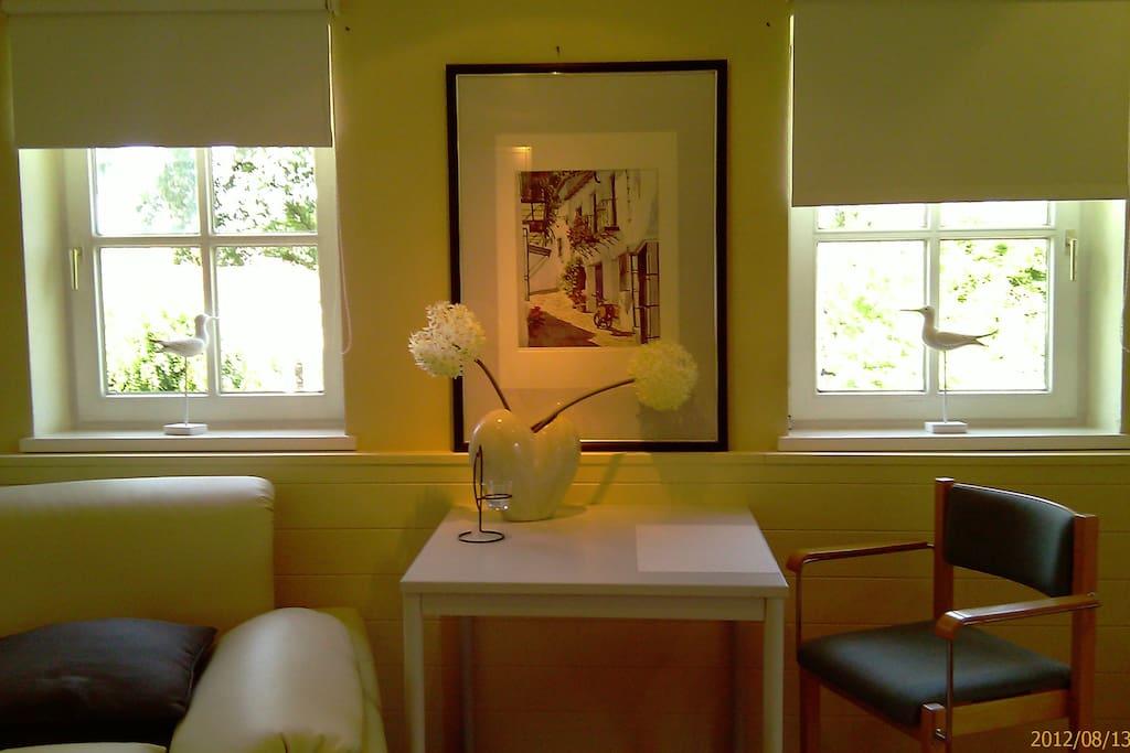 wohnen in einem apartment im fachwerkhaus in stuhr. Black Bedroom Furniture Sets. Home Design Ideas