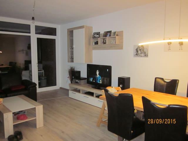 Zentrale schöne Wohnung in ruhiger Lage - Wunstorf - Departamento