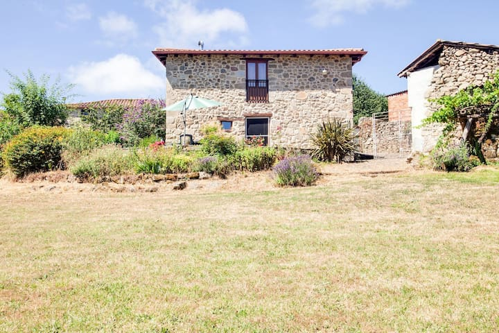 Comfortable and cozy country house in a charming setting.