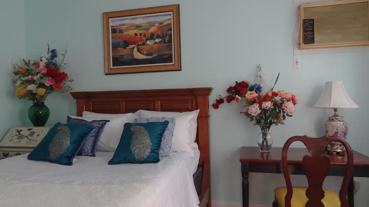 BRIGHT PRIVATE BEDROOM