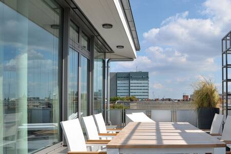 Exklusives Ku'damm Penthouse mit Berlin Panorama - Berlín - Loft
