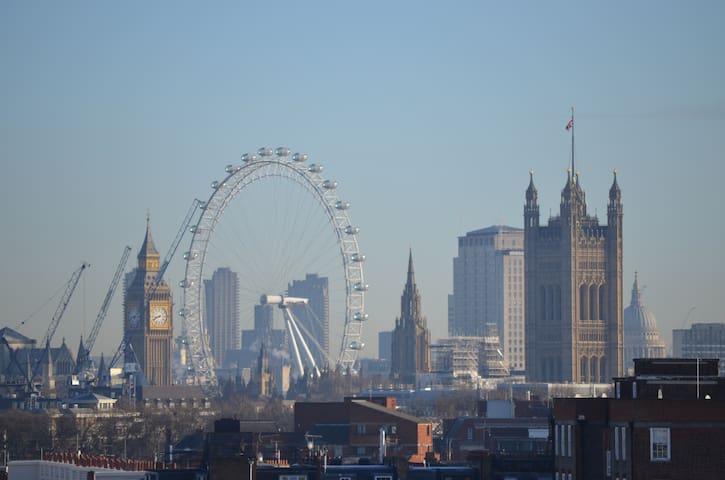 *View of London Eye 2B Pimlico Victoria Zone 1