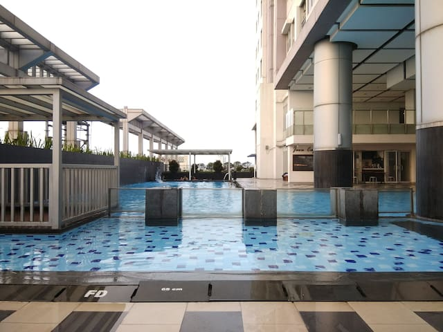 Thamrin City Cosmo Terrace at Central Jakarta WIFI