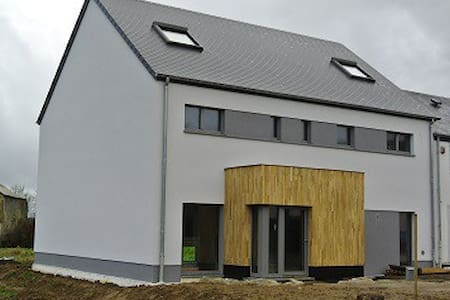 Maison moderne écologique, passive - Messancy
