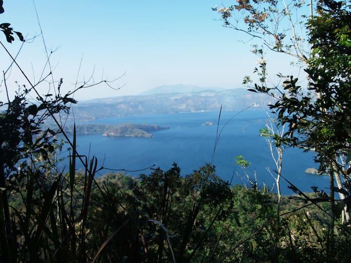 Camping, Campamento, Acampar, Lago de Ilopango
