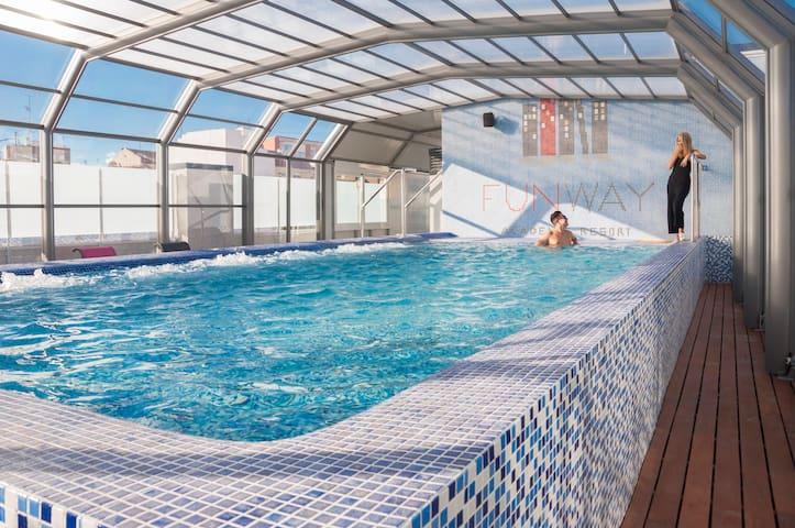 """FUNWAY"" Fantastic Residence North Madrid Area"