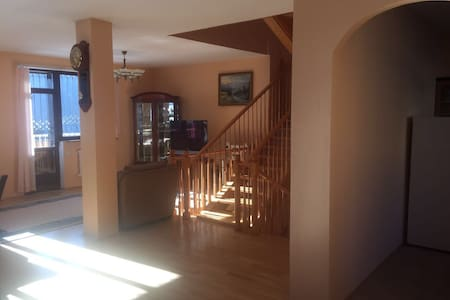 Private 3-storey house in Shymbulak ski resort.