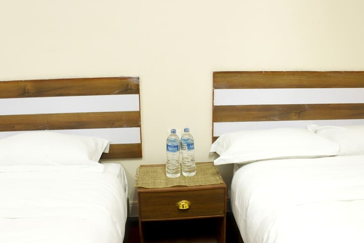 Twin room perfect for two