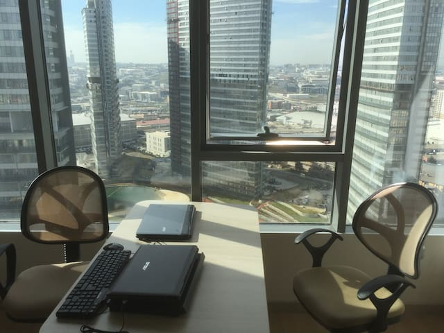 26th floor of a luxury residence in a modern area