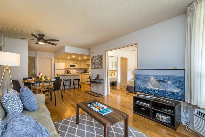 King 1 BD Suite: 2min Walk to Beach, 70MBPS