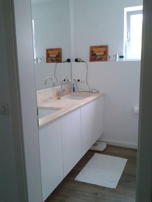 Luxurious bath room