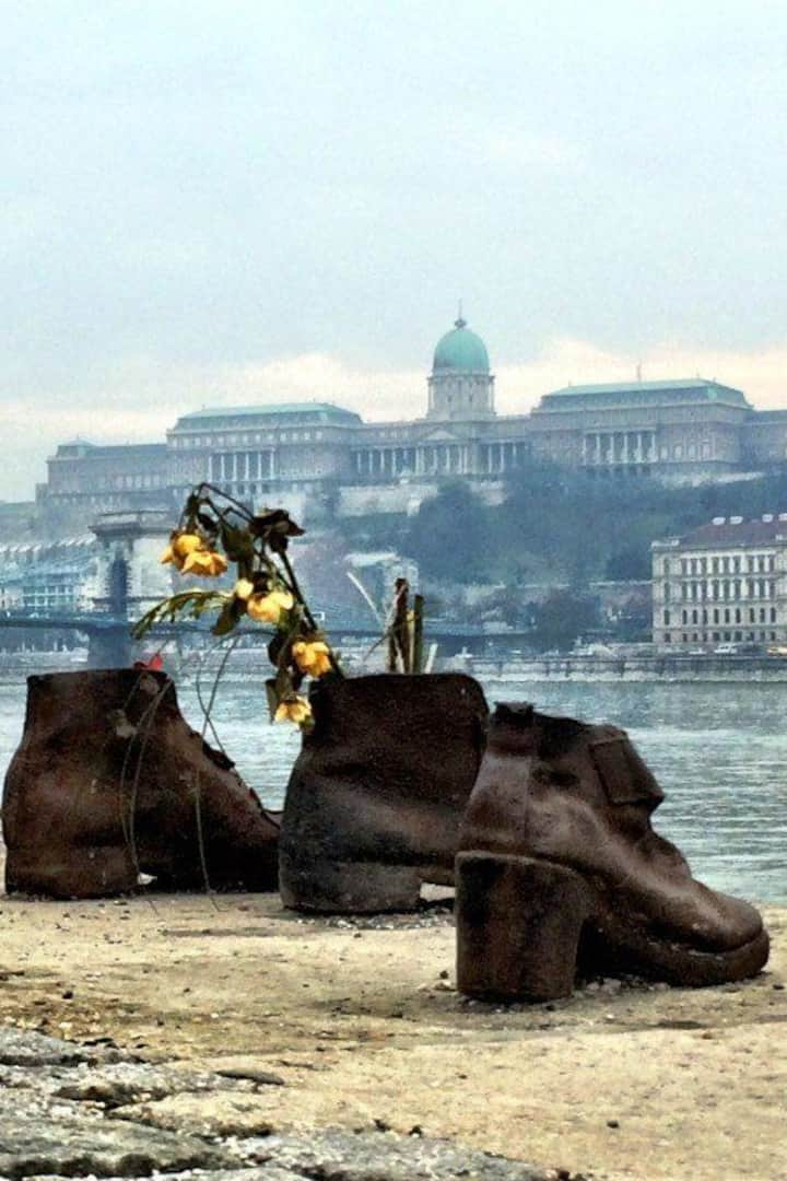Shoes at the Danube