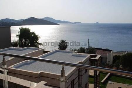 3 Beds, 2 Baths, Apartment in Bodrum (Ocean View) - Yalıkavak Belediyesi