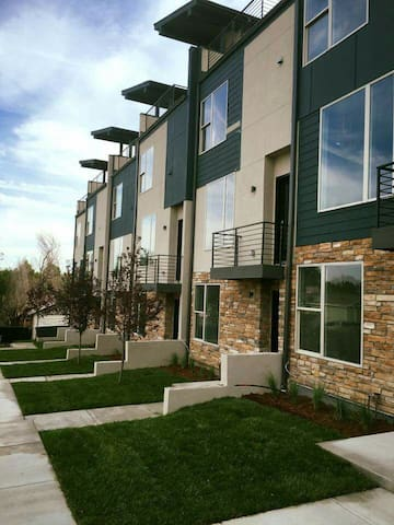 Modern Mile High Townhome with Spectacular Views - Lakewood - Hus