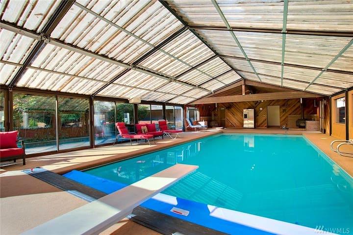 Laurel Manor Villas in Seattle/Kent - 시애틀(Seattle) - 단독주택