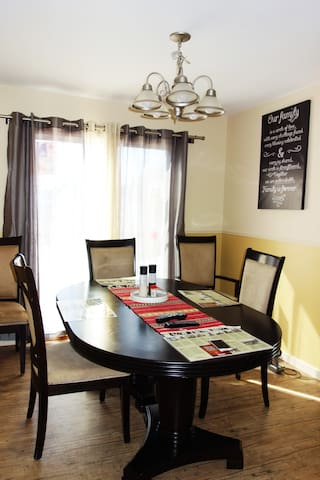 Our dinning rooms