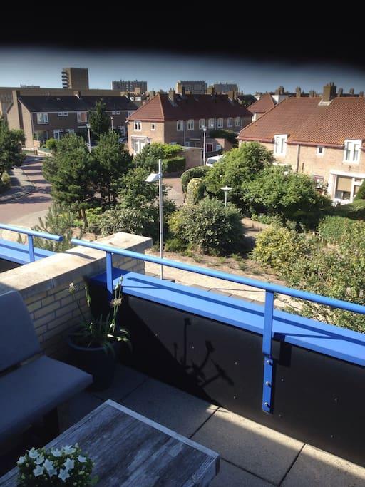 Balcon, Vrij uitzicht