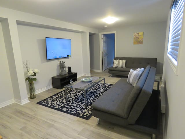 Self check in cozy private 2bedrooms ap,30 days&up