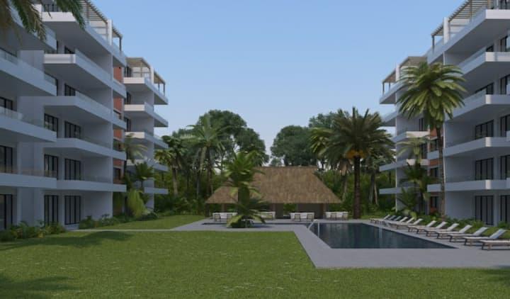 Departamento en Nuevo Vallarta a 3 nim de la playa