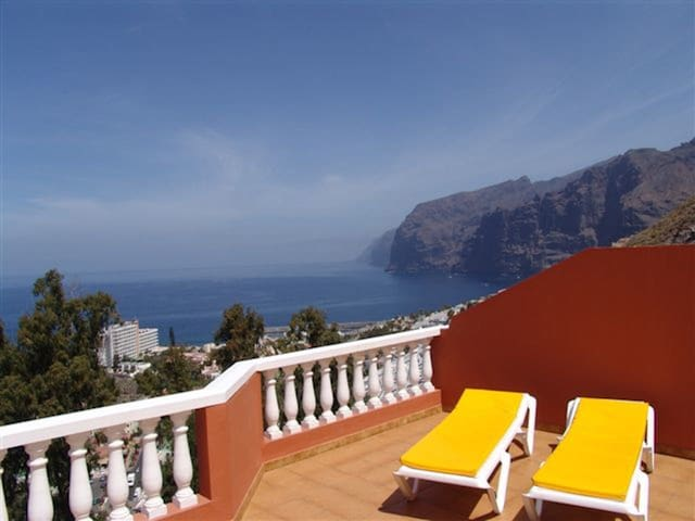 Fantastic view in 40m terrace in Los Gigantes